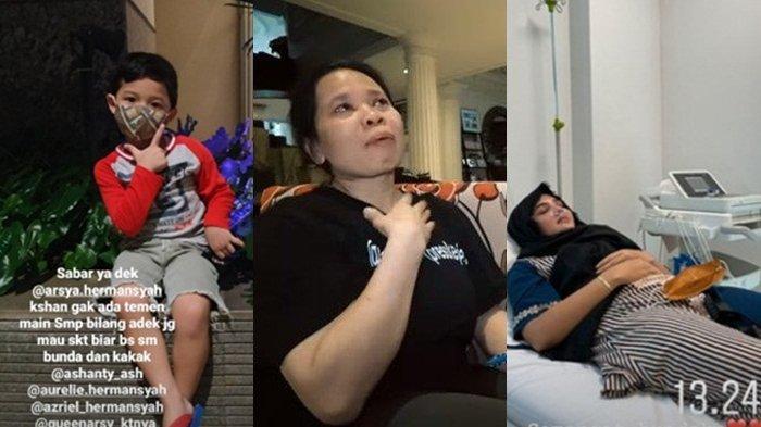 Sambil Nangis Suteng Ungkap Kondisi Ashanty, Kondisi Drop, Rumah Mewah Sepi Bak Tak Ada Kehidupan