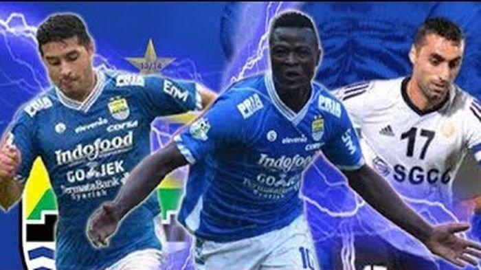 Liga 1: TV Online Indosiar Link Live Streaming Persib vs Persipura Gol Striker Debutan, skor 3-0