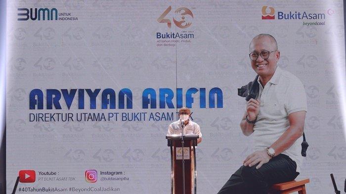 Raih Penghargaan CEO Visioner BUMN Terbaik, Ini Gebrakan Arviyan Arifin di PTBA