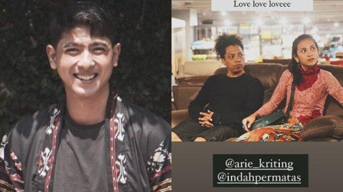 Arie Kriting Nikahi Indah Permatasari, Si Aldebaran Ikatan Cinta Ikut Berkomentar, Tetanggaku!