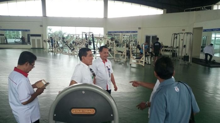 Tim Inasgoc Tinjau Venue Asian Games di Palembang