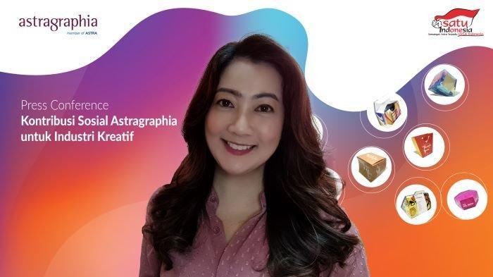 Terus Dukung Industri Kreatif, Pilar Baru Kontribusi Sosial Astragraphia Jangkau 415 Pelaku UMKM