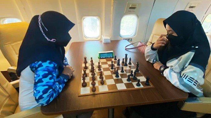 'Serasa di Kabin Pesawat' Pecatur Sumsel Try Out dengan Pecatur Putri Lampung Jelang PON 2021