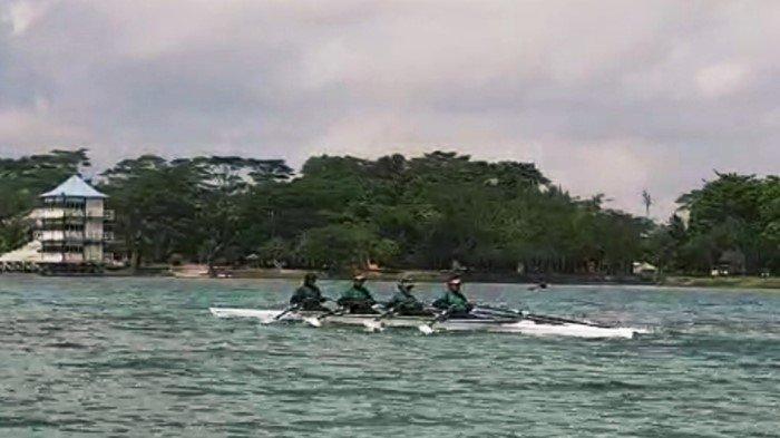 Makin Pede Hadapi PON 2021 di Papua, Cabor Dayung Sumsel Latihan Bareng Tim DKI Jakarta