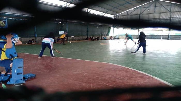 Meskipun Terkendala Latihan Oleh Zona Merah, Hockey Palembang Janjikan Medali Emas di Porprov Sumsel