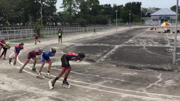 Kejar Target Porprov, Atlet Sepatu Roda Palembang Berkompetisi di Seleksi Kota, Pada 6 Nomor Ini