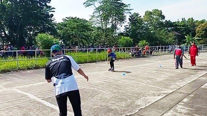 Hadapi PON ke-XX di Papua 2021 Ini, Atlet Sepatu Roda Sumsel Optimis Mesti Kalahkan Idola Sendiri