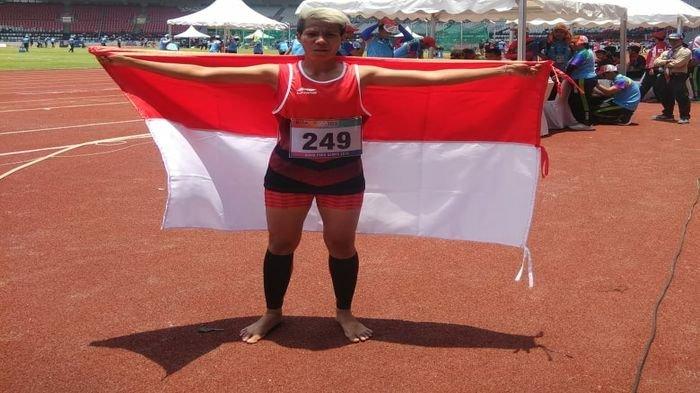 Atlet dari Sumsel Sumbang Emas Ketiga Indonesia di Asian Para Games 2018