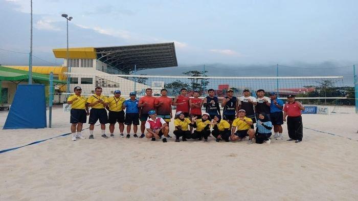 Atlet Muba Wakili Sumsel di Ajang Voli Pasir PON XX Tahun 2020