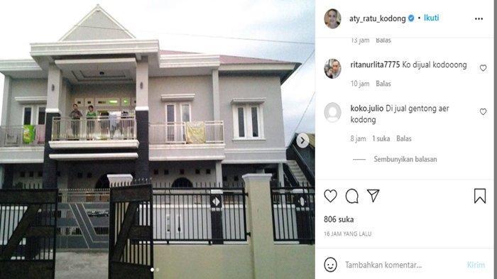 Aty Kodong jual rumah