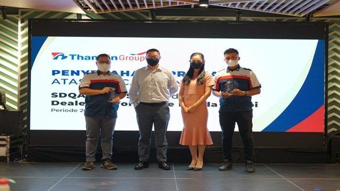 Thamrin Group Beri Penghargaan untuk Dua Dealer, Ini Prestasinya