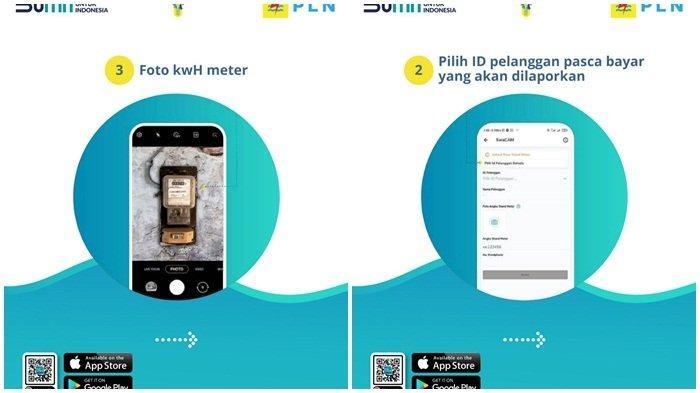 Ayo download aplikasi New PLN Mobile, untuk mengetahui pemakaian listrik ANDA