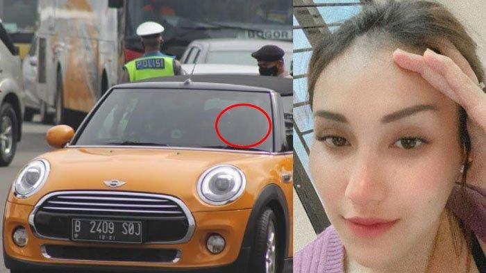 Muncul Pria 'Misterius' Ikut di Mobil Ayu Ting Ting Saat Terjaring Razia di Bogor Pasca Batal Nikah