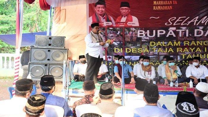 Bupati dan Wabup Banyuasin Jadikan Safari Ramadhan Sarana Serap Aspirasi