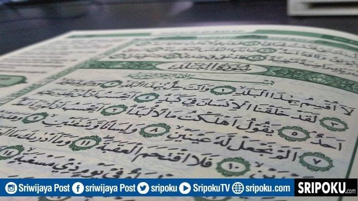 Juz Amma Surat Al-Balad 20 Ayat, Tulisan Arab, Latin, Arti & Keutamaan Dibaca Sebelum Sholat Subuh