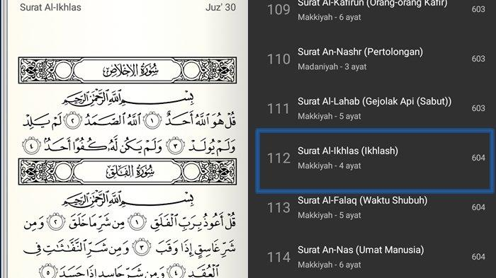 Surat Al-Ikhlas Ayat 1-4 dan Keutamaan Lengkap Tulisan Arab, Latin & Arti, Memurnikan Keesaan Allah