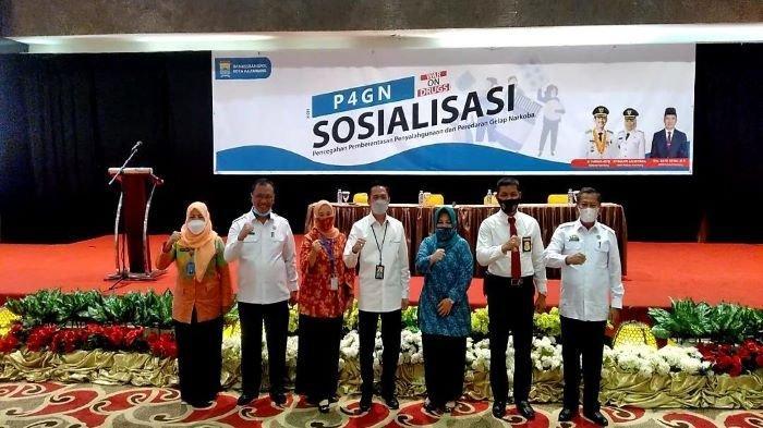 BNNP Sumsel Sosialisasikan P4GN, Demi Sukseskan Program Desa Bersinar