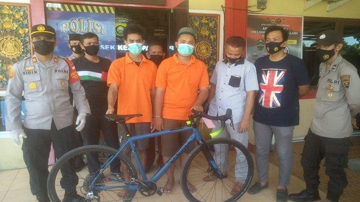 Bajing Loncat di Jembatan Keramasan Palembang Ditangkap Polsek Kertapati, Beraksi tak Kenal Waktu