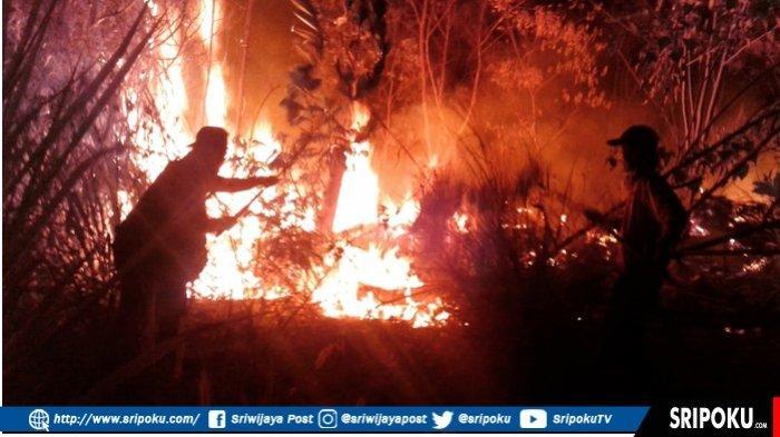 Karhutla Mulai Terjadi Di Pagaralam, Kawasan Bandara Atung Bungsu Salah Satu Yang Mulai Terbakar.