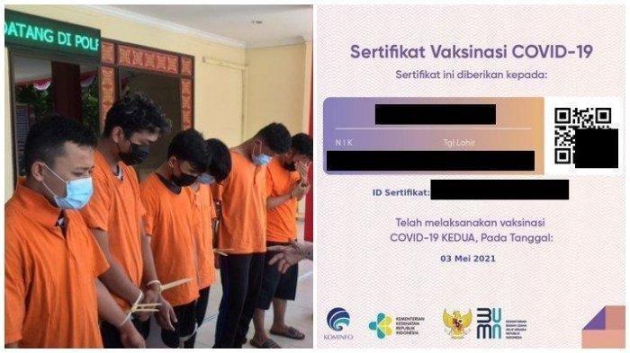 SATU Sertifikat Vaksinasi Dijual Rp300 Ribu, Akal Bulus 5 Mahasiswa Relawan Validasi Vaksin Covid-19