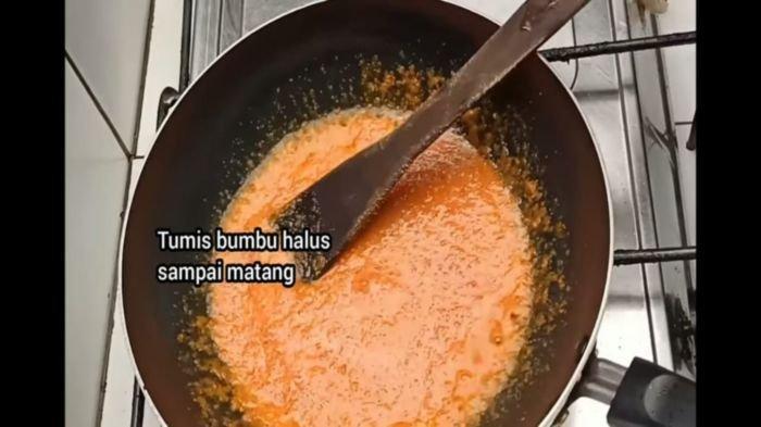 Proses memasak bakso ala drama Korea (drakor)