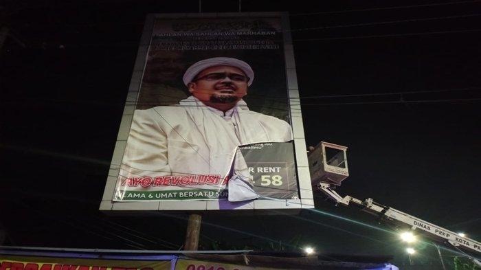 Sekedar Copot Baliho Kok Banyak Mobil, Ketua FPI Sumsel Mahdi: Tanda Habib Rizieq Dihormati