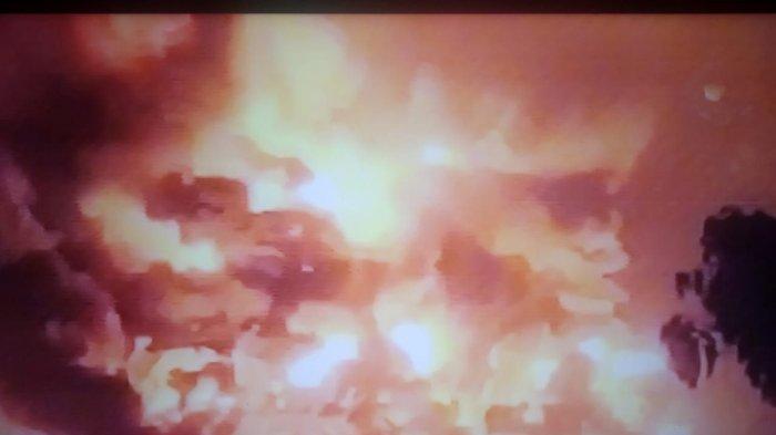 BREAKING NEWS:  KILANG Minyak Balongan Meledak dan Terbakar, 4 Warga Luka Bakar, Ratusan Dievakuasi