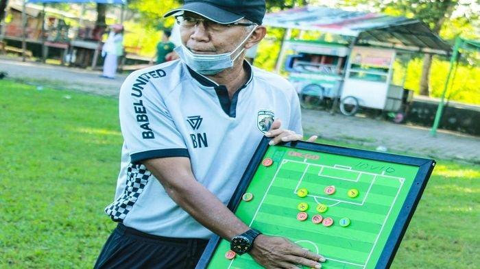 Almarhum Satia Bagdja Eks Pelatih Timnas di Mata Coach Muba Babel United Bambang Nurdiansyah
