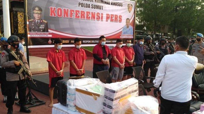 BOS Tersangka Alat Antigen Bekas di Kualanamu Medan Ternyata Warga Lubuklinggau, Lagi Rehab Rumah