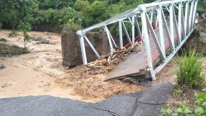Banjir Bandang di Lahat, Herman Deru akan Pinjam Jembatan Bailey agar Warga Desa Keban tak Terisolir