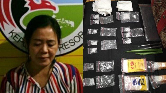 Iptu Hillah Adi Baru Beberapa Hari Jadi Kasat Narkoba OKU Sudah Tangkap Bandar Narkoba Cewek