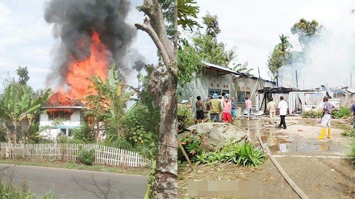 Kebakaran di Banding Agung OKU Selatan, Nenek Nur Hamsiah Kini Bingung Tinggal Dimana