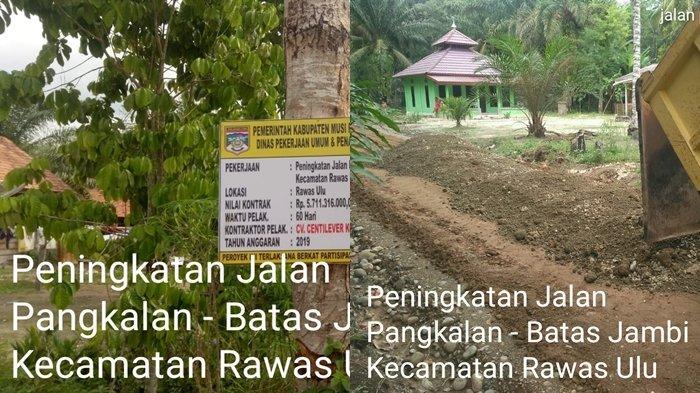 Rp5,7 Miliar Bangub Herman Deru Mengalir ke Kabupaten Muratara, Komitmen Perbaikan Infrastruktur