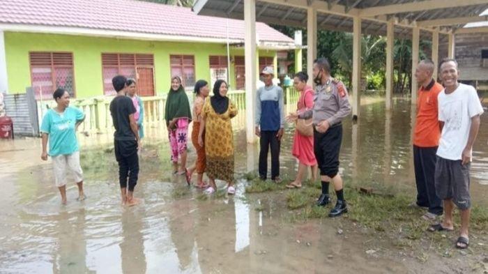Banjir di Kabupaten Muratara, 2 Desa Terendam, BPBD Prediksi Banjir akan Meluas, Sungai Rupit Meluap