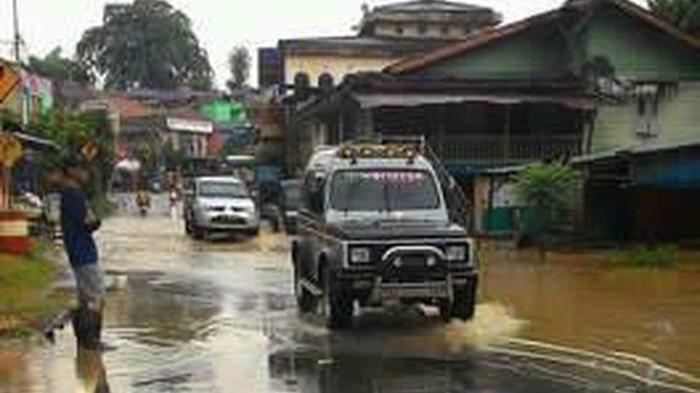 Musim Penghujan, Waspada Tiga Titik Banjir Di Kabupaten Muara Enim Ini