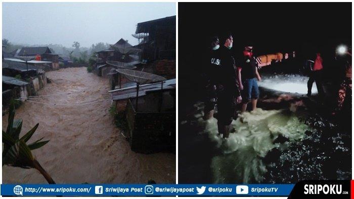 Tanjung Sakti Lahat Diterpa Longsor, Desa Penandingan Terjadi Banjir, Akses Pagaralam-Bengkulu Putus