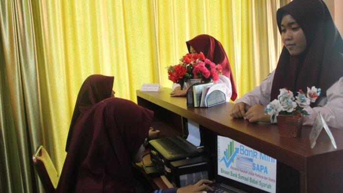SMK Muhammadiyah 1 Palembang Pelopori Bank Mini