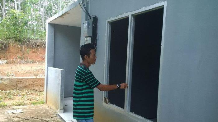 Warga Ini Sedih Lihat Kondisi Bangunan Pengelolaan Bank Sampah Terbengkalai di PALI
