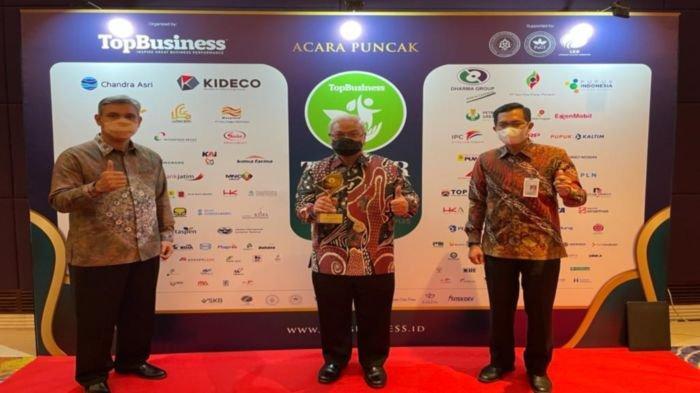 Bank Sumsel Babel Berhasil Raih Penghargaan Top CSR Awards 2021 dengan Predikat Star 3