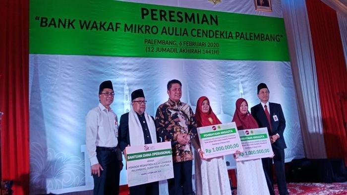Bank Wakaf Mikro Resmi Dilaunching, Bisa Pinjam Modal Usaha tanpa Bunga dan Agunan