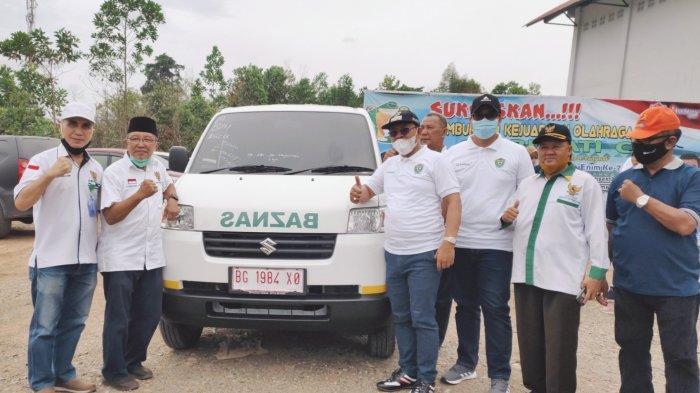 PTBA Serahkan Bantuan Mobil Operasional Ke Baznas Muara Enim