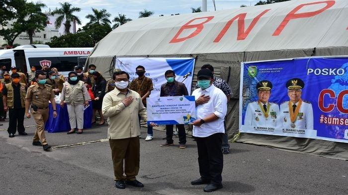 46 BUMN di Sumsel Sumbang Rp 473 Juta dalam Bentuk Alat Kesehatan