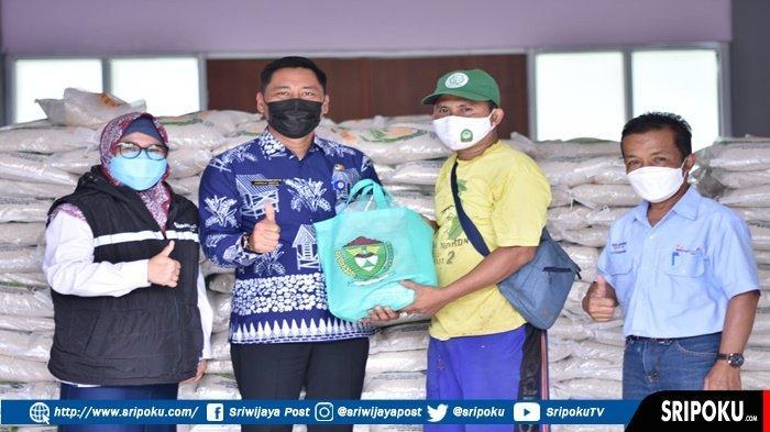 PT Bukit Asam Berikan Bantuan Beras 44 Ton, Bentuk Kepedulian kepada masyarakat Dimasa Pandemi