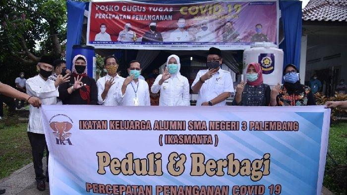 32 Ribu Warga Miskin Baru  Tambahan di Palembang Dapatkan Bantuan Sembako