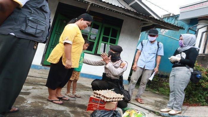 Tukang Sayur Kembalikan Bantuan Sembako Pemkot Lubuklinggau, Banyak Paket Sembako yang Dikebalikan