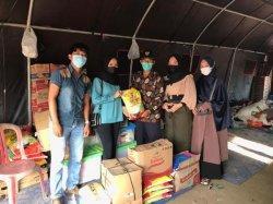 Gardasoss Salurkan Bantuan ke Warga Korban Kebakaran di Kelurahan 7 Ulu dan Desa Ibul Besar III