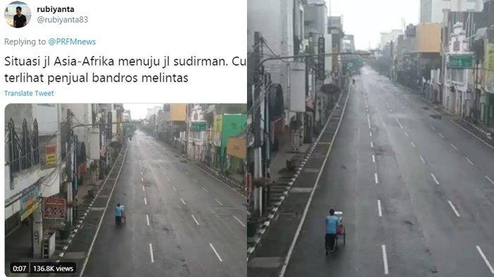 KISAH Perjuangan Seorang Penjual Kue Pancong yang Mendorong Gerobak di Jalan yang Sepi Sunyi, SEDIH!
