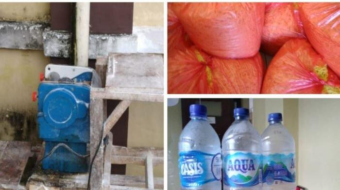 Polres OKU Temukan Ini saat Gerebek Pabrik Memproduksi Mie yang Beredar di Pasar Baru Baturaja