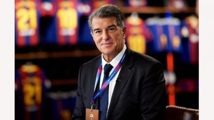 Joan Laporta terpilih menjadi Presiden Klub FC Barcelona