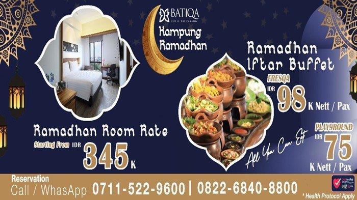 BATIQA Hotel Palembang Gelar Promo 'Kampung Ramadhan', Harga Spesial Menginap dan Berbuka